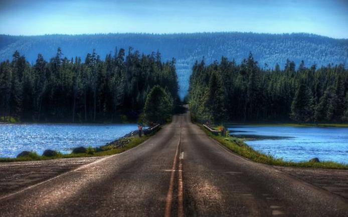 Фотографії найкрасивіших доріг (14)
