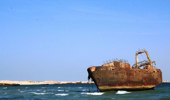 Найбільше у світі кладовище кораблів (2)