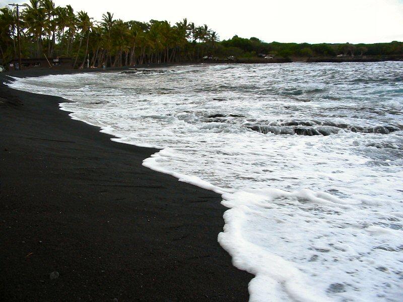 Пляж Чорних Пісків Пуналу
