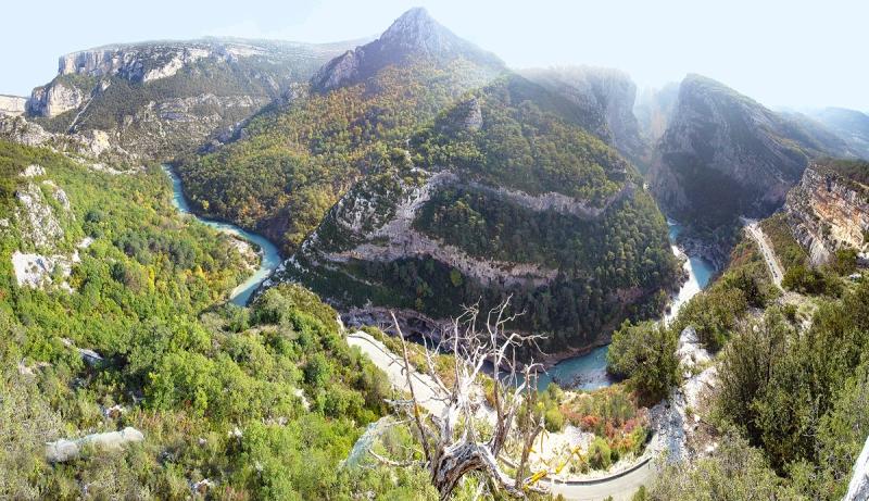 Вердонська Ущелина, або великий каньйон Вердон, вражаюча природна пам'ятка Франції (5)