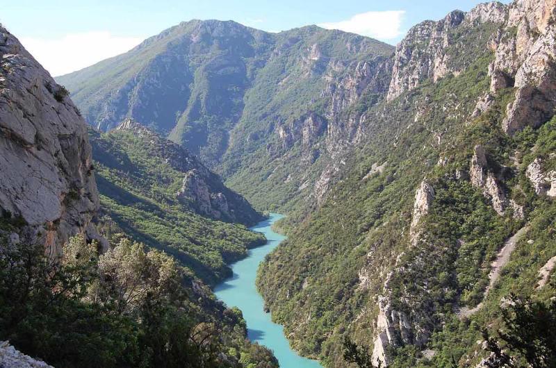 Вердонська Ущелина, або великий каньйон Вердон, вражаюча природна пам'ятка Франції (6)