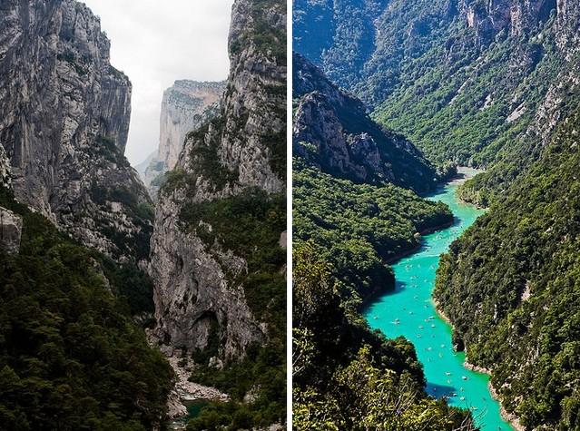 Вердонська Ущелина, або великий каньйон Вердон, вражаюча природна пам'ятка Франції (8)