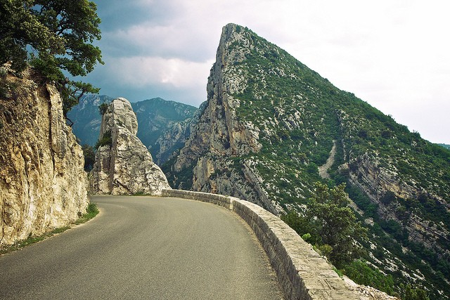 Вердонська Ущелина, або великий каньйон Вердон, вражаюча природна пам'ятка Франції (15)