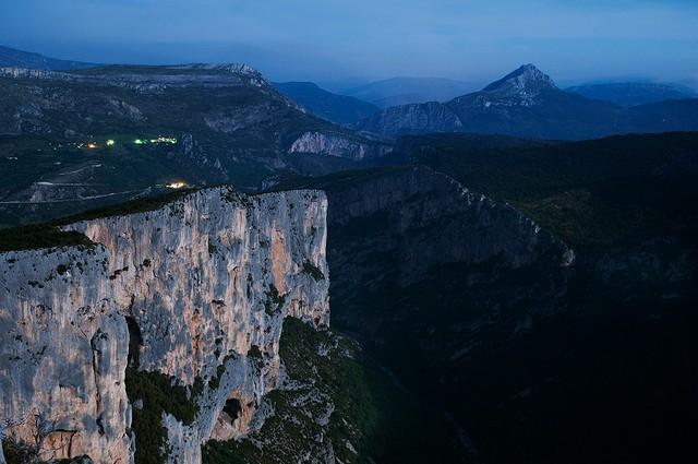 Вердонська Ущелина, або великий каньйон Вердон, вражаюча природна пам'ятка Франції (12)