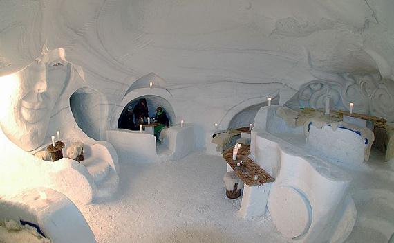 Мережа снігових готелів Iglu-Dorf (21)