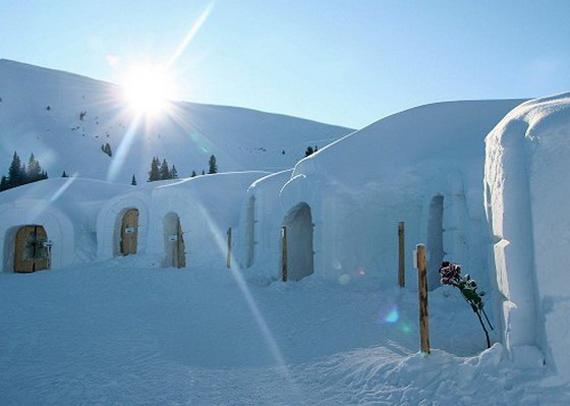 Мережа снігових готелів Iglu-Dorf (15)