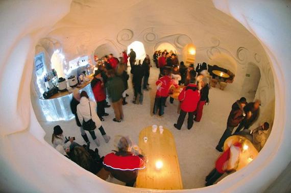 Мережа снігових готелів Iglu-Dorf (10)