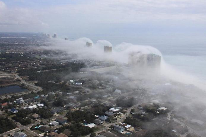 Дивна хвильова хмара на узбережжі Флориди (5)