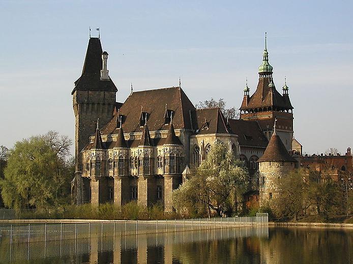 Замок Вайдахуняд в Будапешті (5)