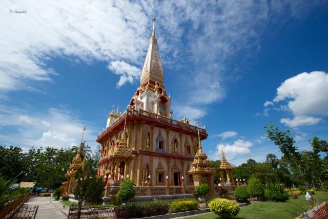 Храм Чалонг. Пхукет (5)