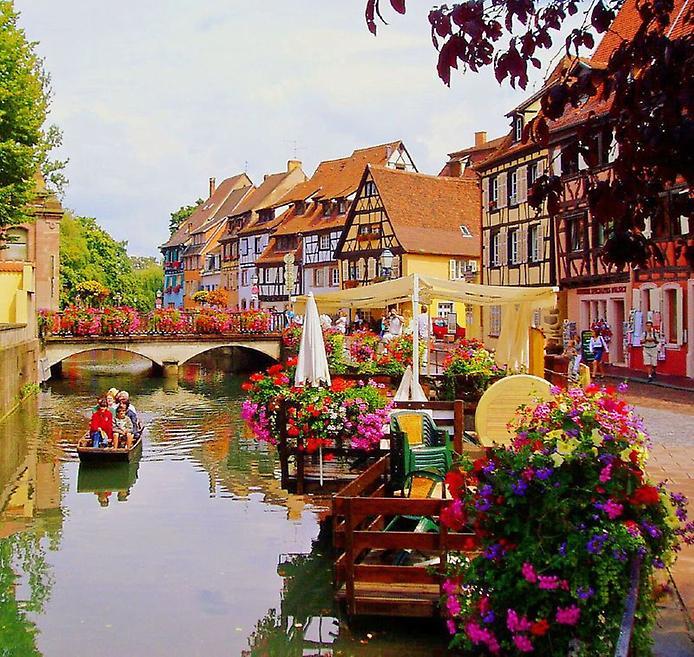Дивовижний місто Кольмар, Франція (7)