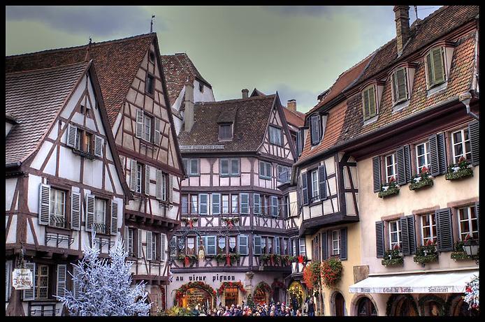 Дивовижний місто Кольмар, Франція (4)