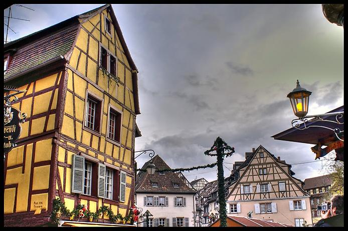 Дивовижний місто Кольмар, Франція (3)