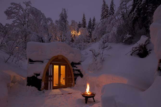 Дивовижний міні-готель в горах Швейцарії (2)