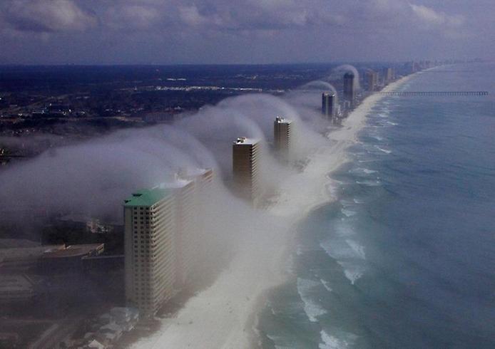 Дивна хвильова хмара на узбережжі Флориди (4)