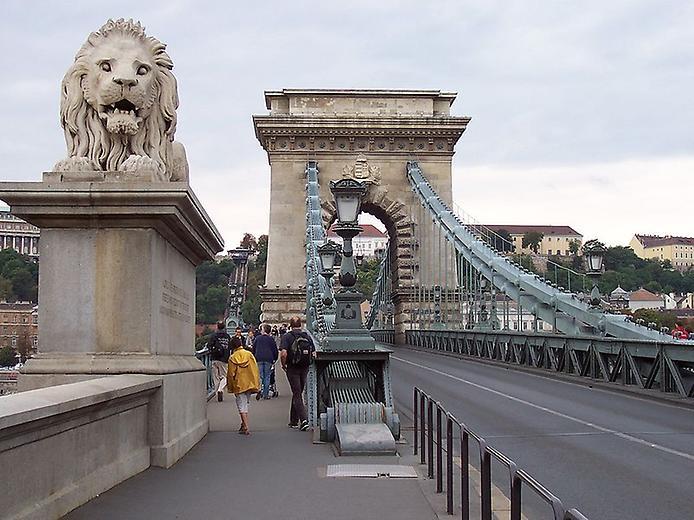 Ланцюговий міст Сечені. Символ Будапешта (5)