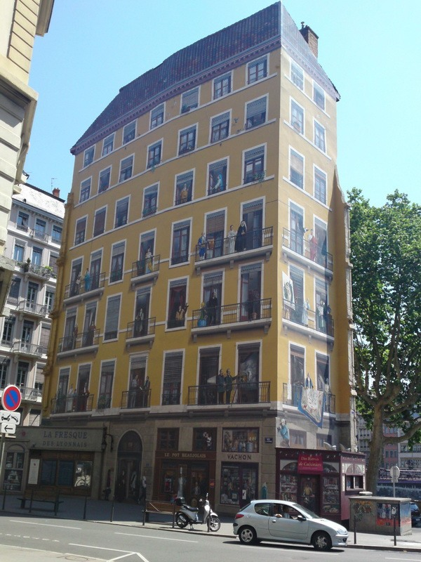 Будинок-картина в Ліоні (3)