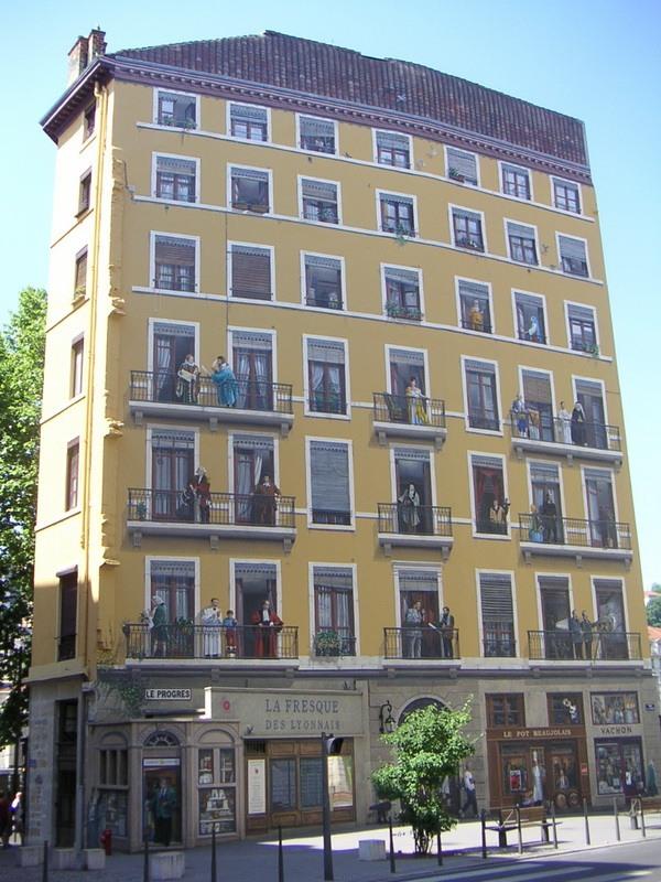 Будинок-картина в Ліоні (2)