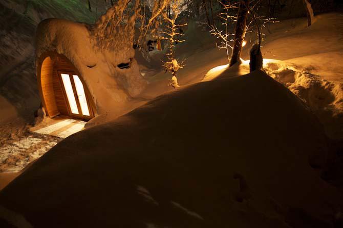 Дивовижний міні-готель в горах Швейцарії (3)