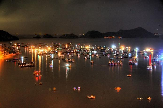 Плаваючі села острова Кат Ба у В'єтнамі (9)