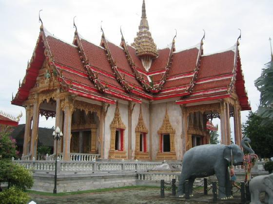 Храм Чалонг. Пхукет (3)