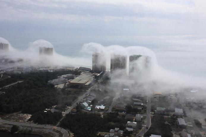 Дивна хвильова хмара на узбережжі Флориди (3)