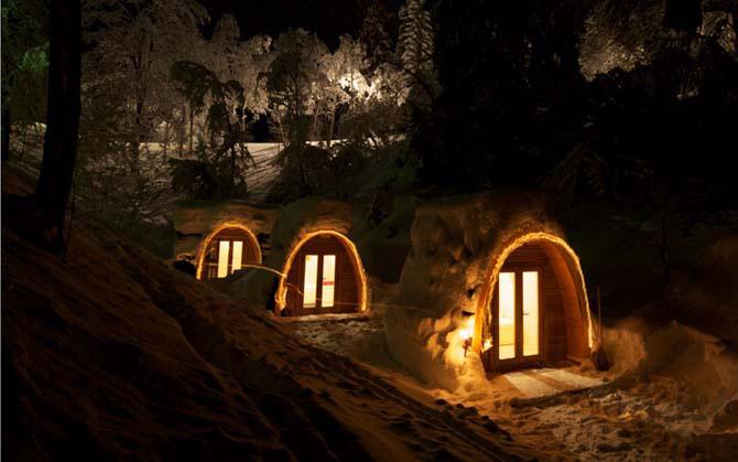 Дивовижний міні-готель в горах Швейцарії (4)