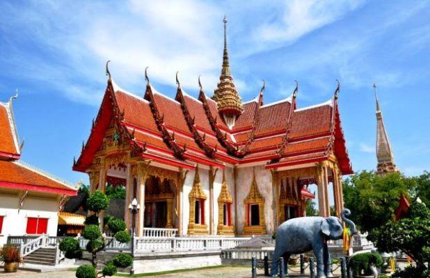 Храм Чалонг. Пхукет (2)