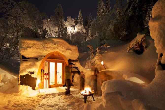 Дивовижний міні-готель в горах Швейцарії (5)
