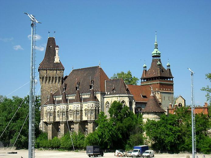 Замок Вайдахуняд в Будапешті (1)
