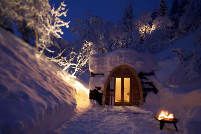 Дивовижний міні-готель в горах Швейцарії (6)