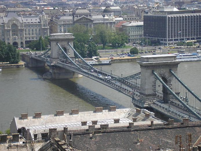 Ланцюговий міст Сечені. Символ Будапешта (1)