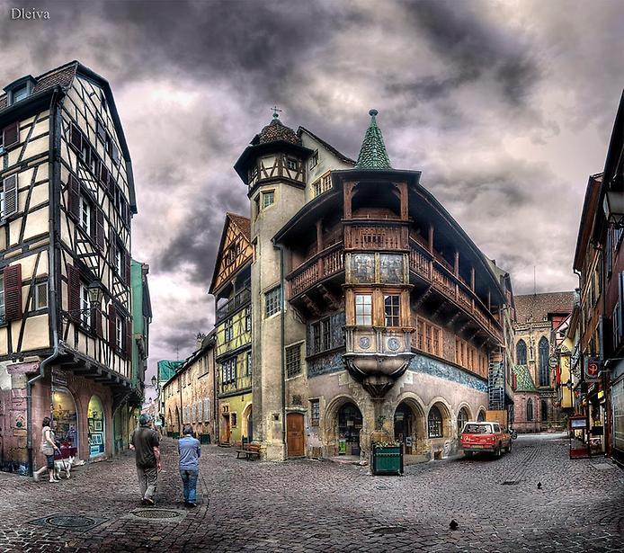 Дивовижний місто Кольмар, Франція (14)
