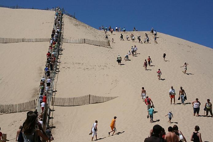 Пила: Неймовірна рухома дюна затоки Аркахон (2)