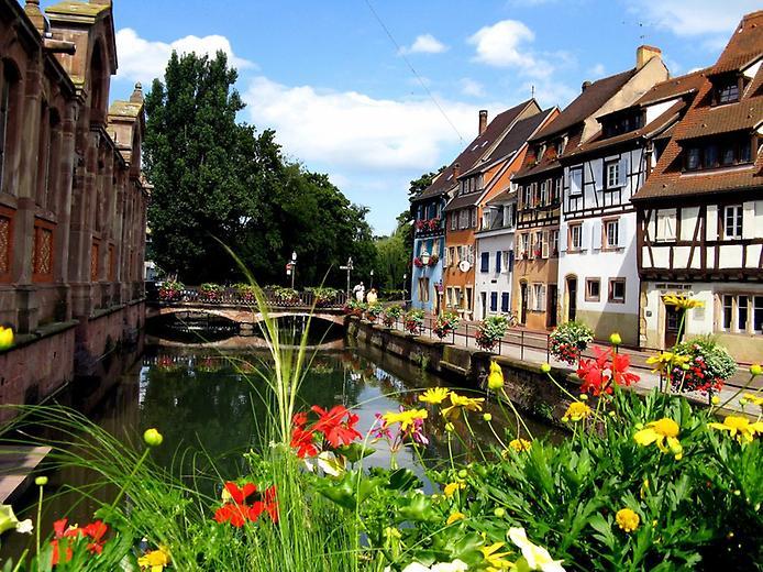 Дивовижний місто Кольмар, Франція (1)