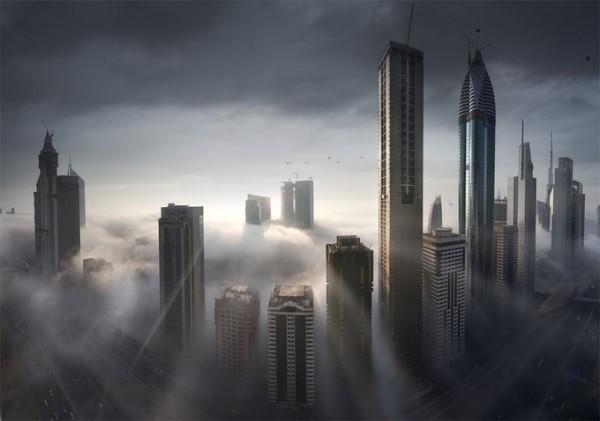 Архітектурна перлина Близького Сходу - місто Дубай (2)