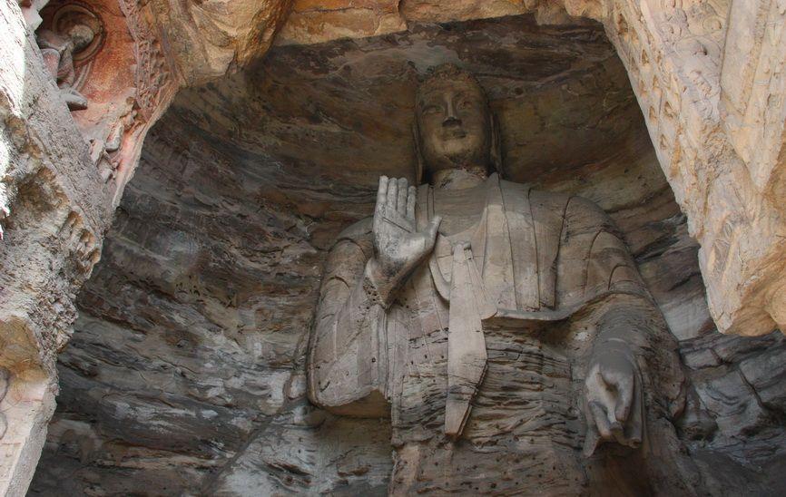Будда Гаутама, одна з найдавніших статуй.