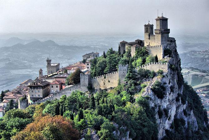 Фортеця Гуаіта (Ла Рокка) - сама древня фортеця Сан-Марино, побудована в 16 столітті: