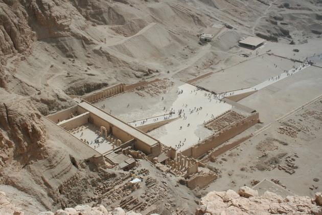 Храм цариці Хатшепсут (6)
