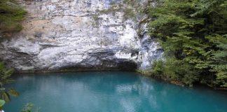 Синє озеро в Абхазії (2)