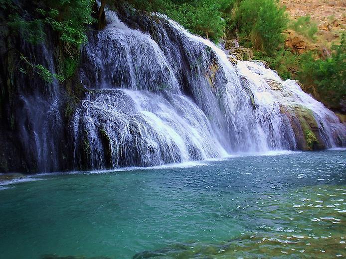 Водоспад Хавасу в Гранд Каньйоні (1)