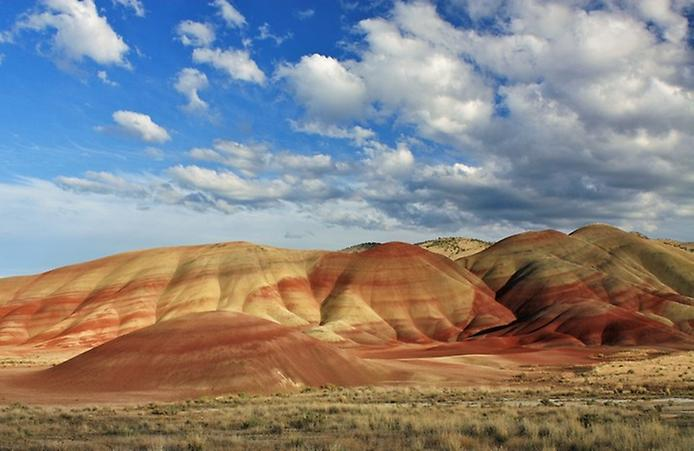 Кольорова пустеля на плато Колорадо (1)