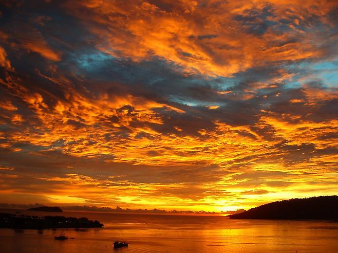 Захід сонця і його пишність (1)