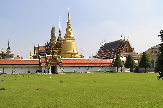 Храм Смарагдового Будди. Ват Пхра Кео (8)