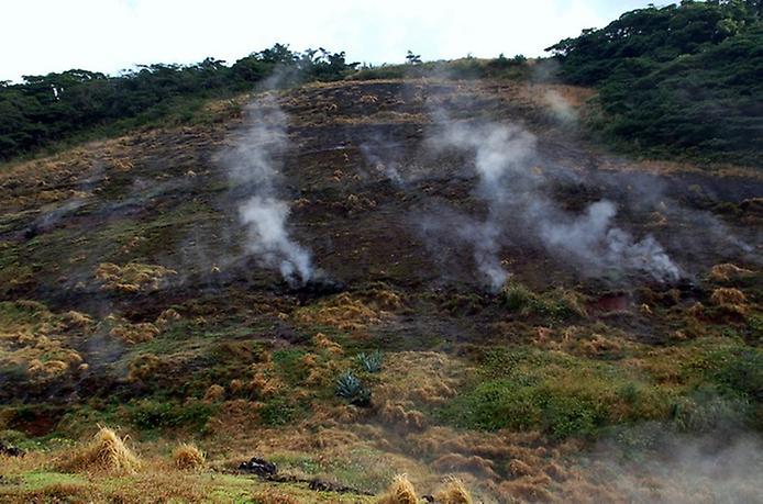 Найнезвичайніший вулканічний острів Японії. Аогашіма (2)