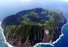 Найнезвичайніший вулканічний острів Японії. Аогашіма (12)