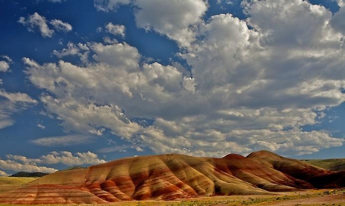 Кольорова пустеля на плато Колорадо (10)