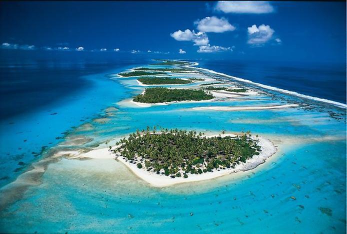 Острови Туамоту. Найбільший ланцюг атолів в світі (10)
