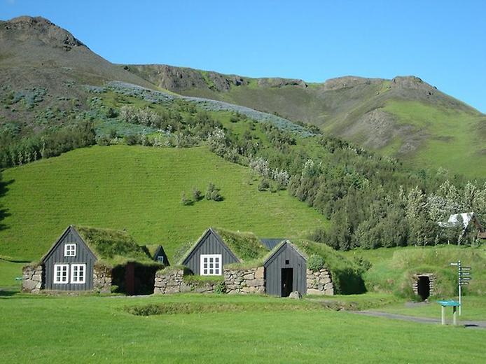 Традиційні будинки Ісландії (9)