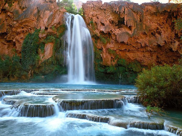 Водоспад Хавасу в Гранд Каньйоні (8)